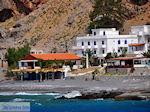 Taverna en appartementen aan het strand van Agia Roumeli | Chania Kreta | Griekenland - Foto van De Griekse Gids
